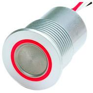 PSE NO 24 Red ring illumination Aluminum with wires (stranded)