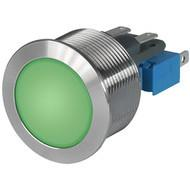 MSM CS 22 Metal Switch with ceramic actuator Surface backlighting green
