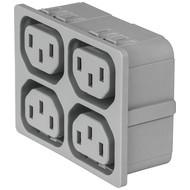 4751 4751 with 4 ganged outlets in grey en IM0016838