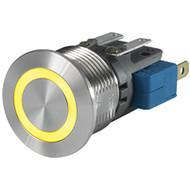 MSM 16 Metal Switch Medium Stroke, Switching Voltage up to 250 VAC