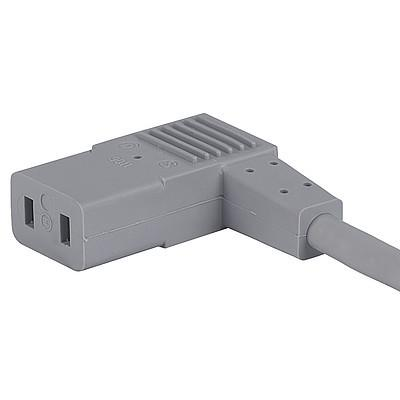 9011 Power Cord with IEC Connector C9, Angled
