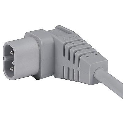2712 Interconnection Cord with IEC Plug C, Angled