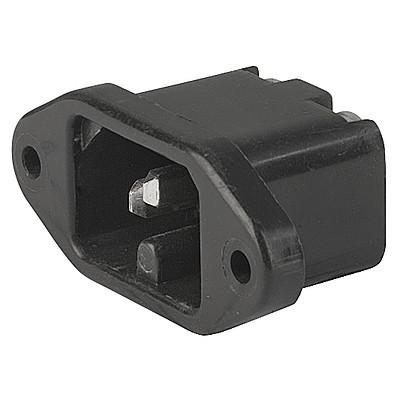 0164 IEC Appliance Inlet C16, Screw-on Mounting, Front Side, Screw-on Terminal