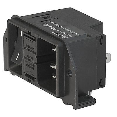 DD21 DD21 - IEC C14 connector with fuse holder 1- or 2-pole en IM0004897