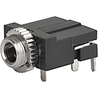 4832.2320 Audio plug 3.5mm  3-pole  shielded and straight for PCB mounting en IM0005016