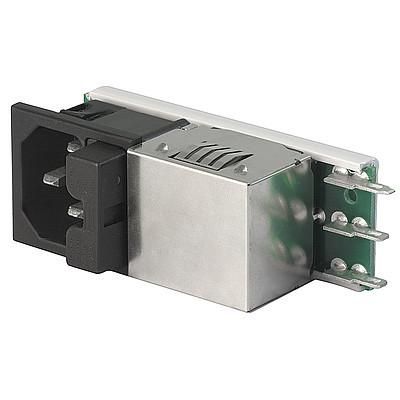 Felcom 54 Power Entry Module with Appliance Outlet  Fuse Drawer and EMC Filter en IM0005165