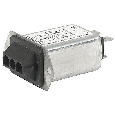 5003 Screw-on mounting  front or back side Quick connect terminals 6.3 x 0.8 mm AMP Universal MATE-N-LOK or MOLEX MLX en IM0005217