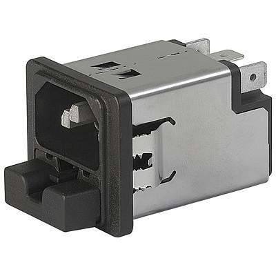 5220 Snap-in mounting from front side with 2-pole fuseholder en IM0005236