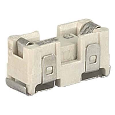 OMK 63 Surface Mount Fuse with Holder, 12 x 5.2 mm, Quick-Acting F, 63 VAC, 63 VDC