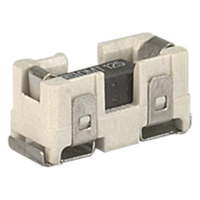 OMZ 125 Surface Mount Fuse with Holder, 12 x 5.2 mm, Time-Lag T, 125 VAC, 125 VDC