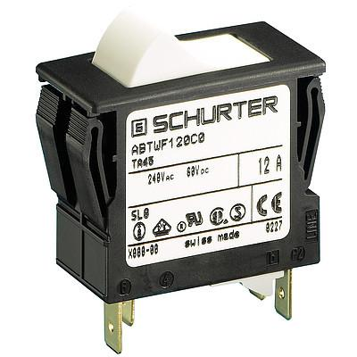TA45-2R Circuit Breaker for Equipment thermal, 2 pole, Rocker actuation
