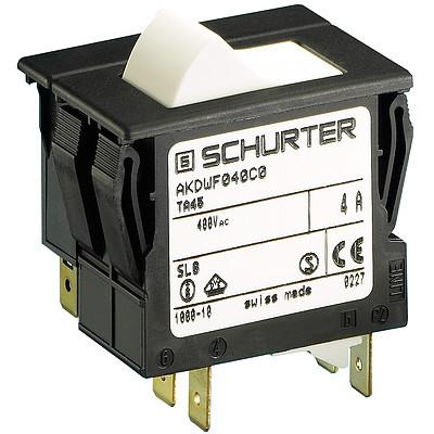 TA45-3R Circuit Breaker for Equipment thermal, 3 pole, Rocker actuation