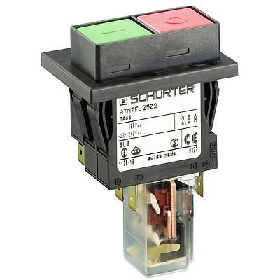 TA45-2PAU Circuit Breaker for Equipment thermal, 2 pole, Push button actuation, with auxiliary contact, with undervoltage