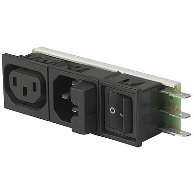 Felcom 64 IEC C14 device plug with modular expandable components en IM0005483