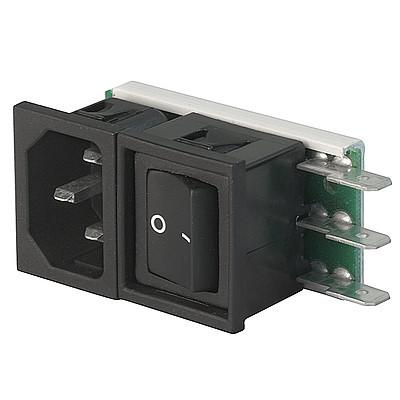 Felcom 64 IEC C14 device plug with modular expandable components en IM0005492