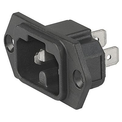 6120-3 6120-3 - IEC connector C16A  screw-on mounting from front- or rearside en IM0005511