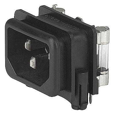 GSF1 Snap-in version with fuseholder 1- or 2-pole Sandwich rear-side en IM0005650