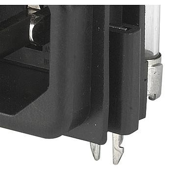 GSF1 Pick and Place Version IEC connector C14 with fuse holder 1- or 2-pole Sandwich rear-side en IM0005659