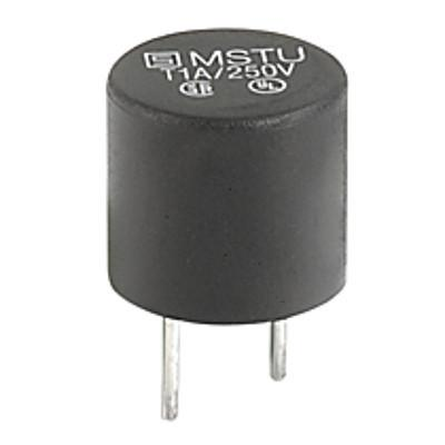 MSTU 250 Subminiature fuse 8.5 mm  time-lag T  250 VAC Short terminal PCB Mounting en IM0005786