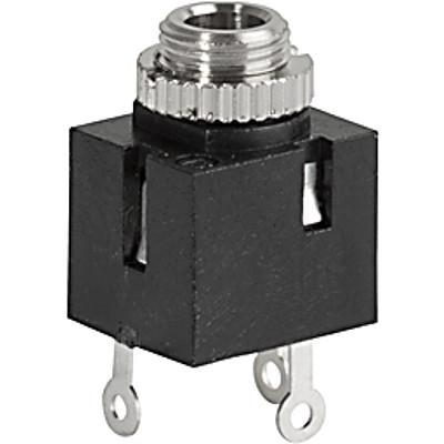 4832.2211 Audio plug 3.5 mm with solder terminal  shielded  2-pole en IM0006820