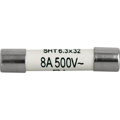 SHT 6.3x32 Cartridge Fuse, 6.3x32 mm, 400-500 VAC, 400 VDC, 1-32 A, High Breaking Capacity up to 3500 A