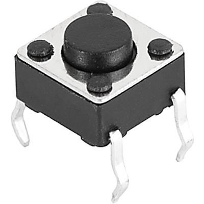 6x6 mm tact switches LPH: Through hole, variable height
