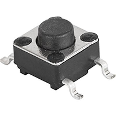 6x6 mm tact switches LSH: Gullwing, variable height
