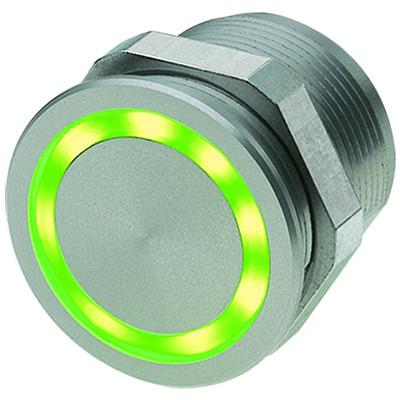 PSE NO 22 Piezo Switch with closing function Standard version Green ring illumination en IM0012944