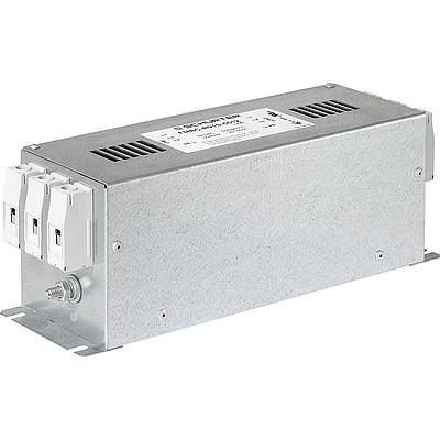 FMBC LL 2-stage filter for 3-phase systems with low leakage current