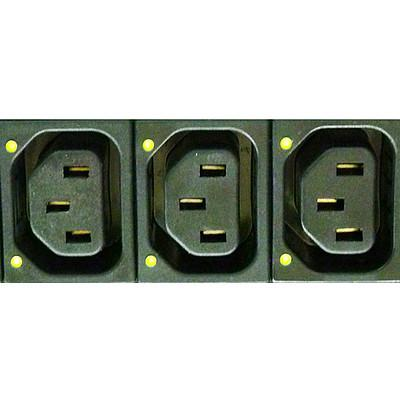 6610-5 Power Distribution Unit (PDU) with integrated light pipes