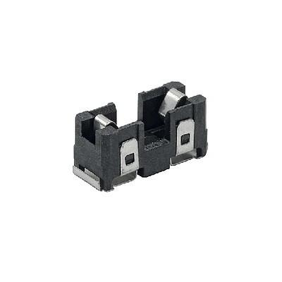 OMH 125 Open fuse holder black