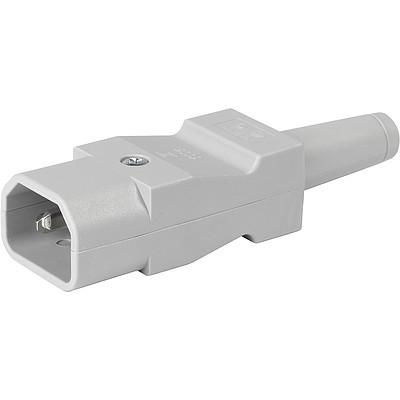 9009 Rewireable connector grey straight en IM0016490