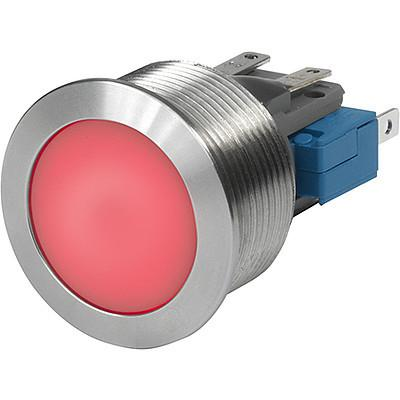 MSM CS 22 Metal Switch with Ceramic Actuator, Switching Voltage up to 30 VDC / 250 VAC