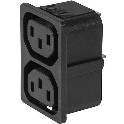 4751 4751 with 2 ganged outlets in black en IM0016836