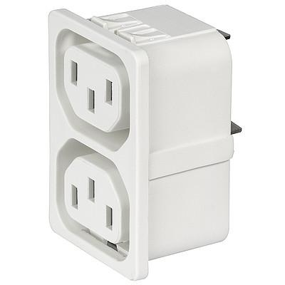 4751 4751 with 2 ganged outlets in white en IM0016837
